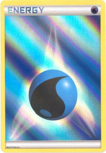 holo-foil WATER ENERGY 3 x Pokemon Card 2013 Promo - NM//Mint