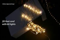 Crate & Barrel (cb2) Wire Sprinkle Line Lights -nib- Go With The Glow