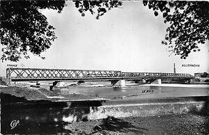 BR39162-Strasbourg-le-nouveau-pont-du-Rhin-france