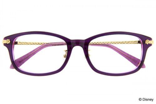 NEW Disney Collection Princess Line Rapunzel glasses Princess Color from JAPAN