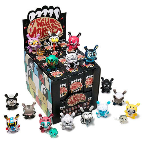Kidrobot Dunny - The Wild Ones Dunny Series Blind Box - Set of 24 NEW Kidrobot