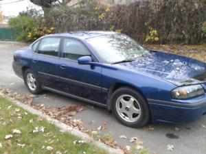 Chevrolet impala  2004 avec 154000km