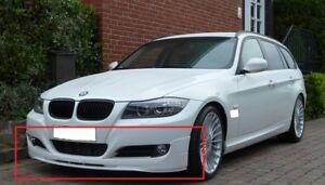 BMW-3-SERIES-E90-E91-AFTER-LIFT-ALPINA-LOOK-FRONT-BUMPER-VALANCE-SPOILER-NEW