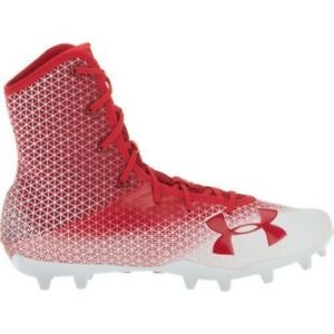 1cbb4a1f3ed Men s Under Armour Highlight Select MC Football Cleats - Red White ...