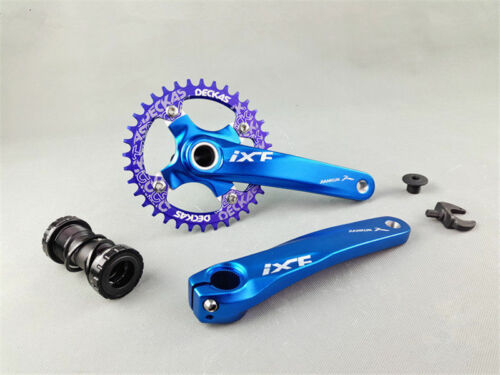 IXF MTB Road Bicycle Crankset 170mm BCD 104mm Bottom Bracket Chianring Chainset