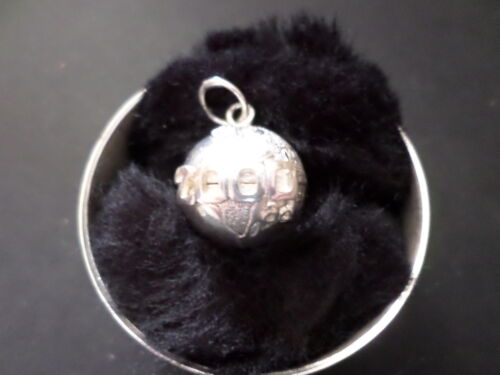 pendant by Amalco Sterling silver year 2000 ad world globe charm