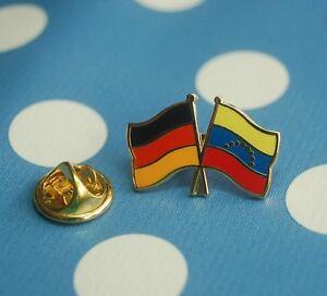 Freundschaftspin-Deutschland-Venezuela-Pin-Anstecker-Button-Badge-Anstecknadel