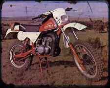 Cagiva Rx250 Enduro 81 A4 Metal Sign Motorbike Vintage Aged