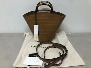 Loeffler Randall Agnes Croc-Embossed Leather Tote Handbag (BRAND NEW)