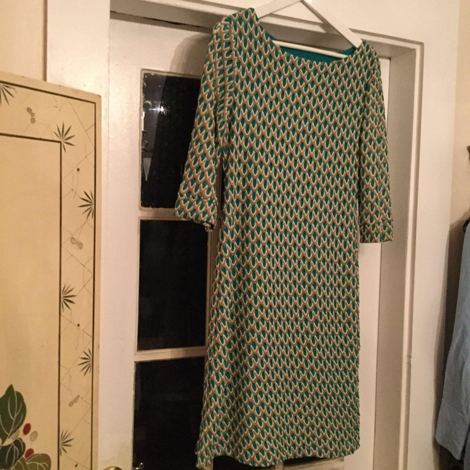 NEW M Missoni Chevron Knit Weave Dress - L