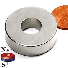 Super Strong N52 Od 126x Id 12x 38 Neodymium Rare Earth Ring Magnet 4 Pc