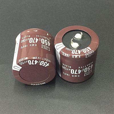 1pcs 180uF 450V NCC KMR 25x32mm Downsized 450V180uF PSU Electrolytic Capacitor