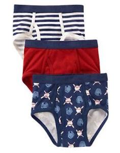 Pack of 3 Gymboree Boys Underwear Briefs