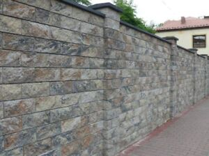 Fences Modular Systems Fencing Walling Stone Paving Bricks Natural Stone Garden Ebay