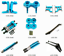 Actualizacion-de-Metal-de-Aluminio-Hagalo-usted-mismo-piezas-apto-para-1-10-Tamiya-CC01-4WD-Radio miniatura 1