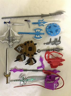 MASTERS OF THE UNIVERSE WEAPON PACK complete ultimate battleground classics motu