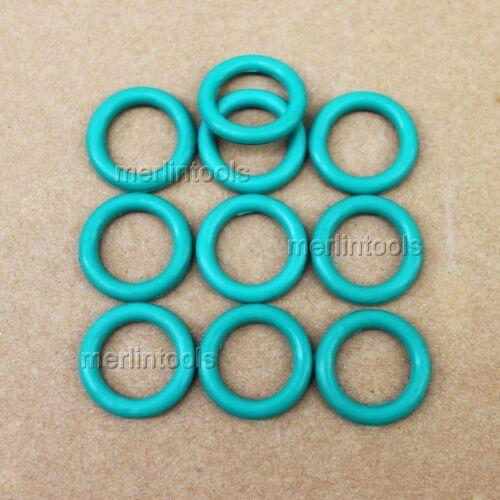OD 17mm  ID 12mm 10Pcs Section 2.5mm VITON O-Ring gaskets