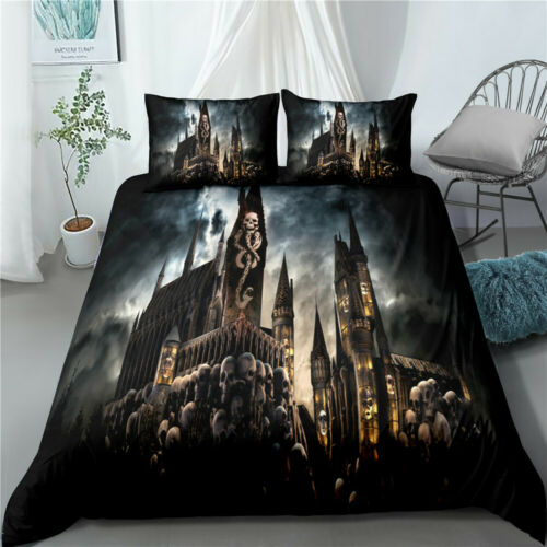 Harry Potter Szene Bettwäsche Quilt Set Quilt Cover Kissenbezug Single Double Ki