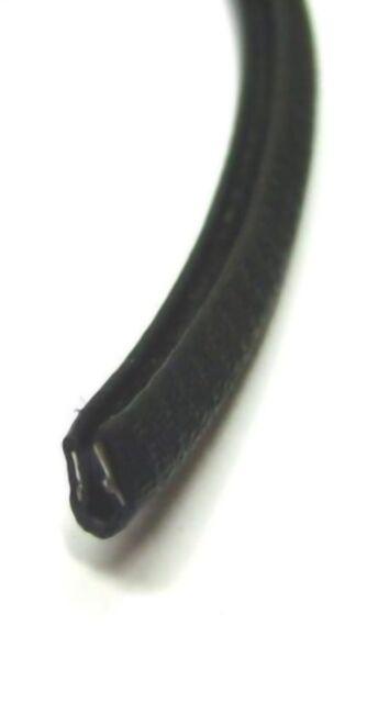 Kantenschutz Meterware Kantenschutzprofil Klemmschutz Klemmdichtung schwarz