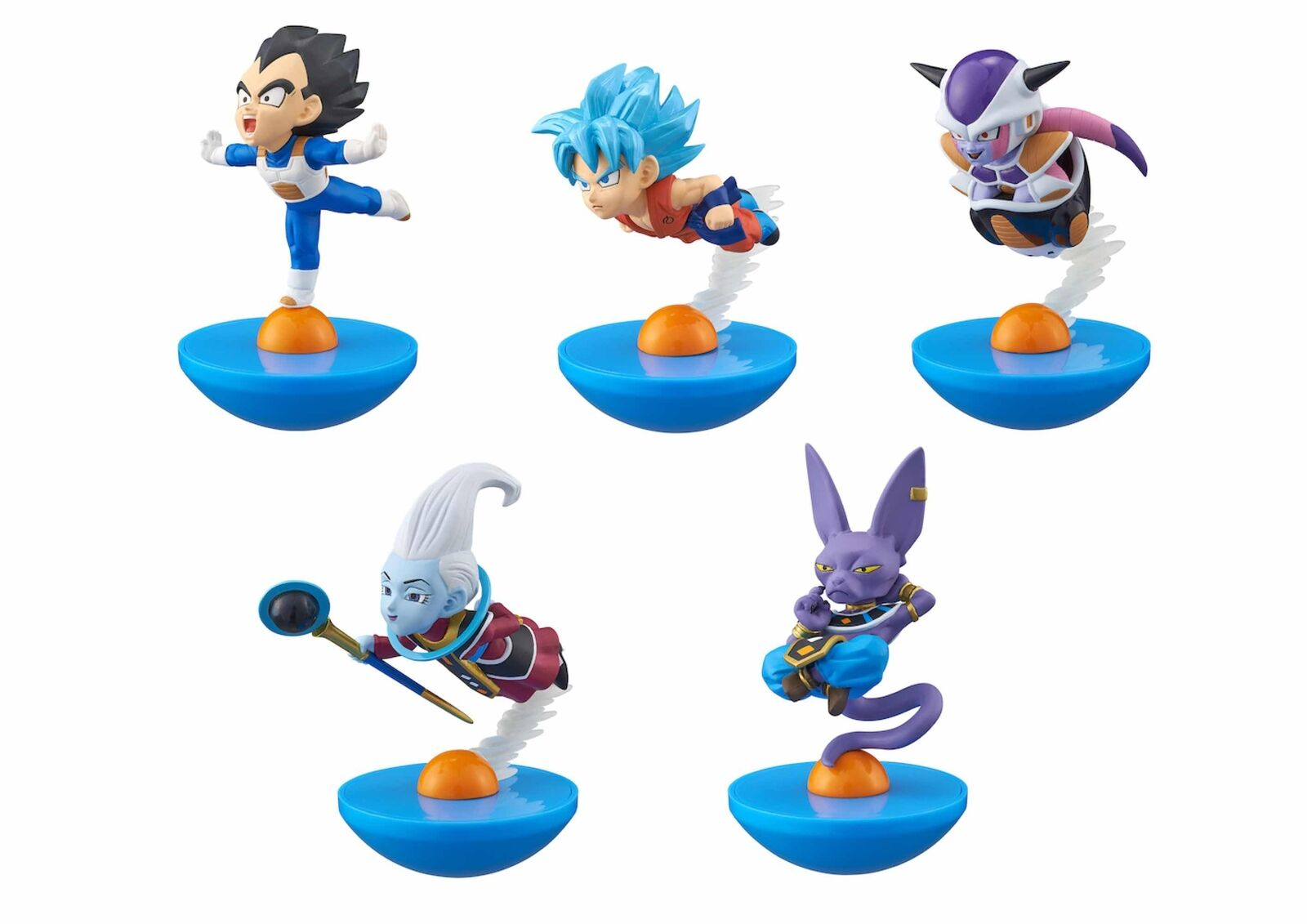Dragon Ball Super Display 5 Figuras 8 cm Dragon Ball Super Yura Cole
