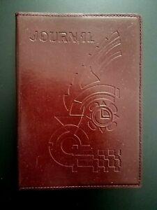 Art Deco Leather Bound Journal 2001 Pomegranate New Unused