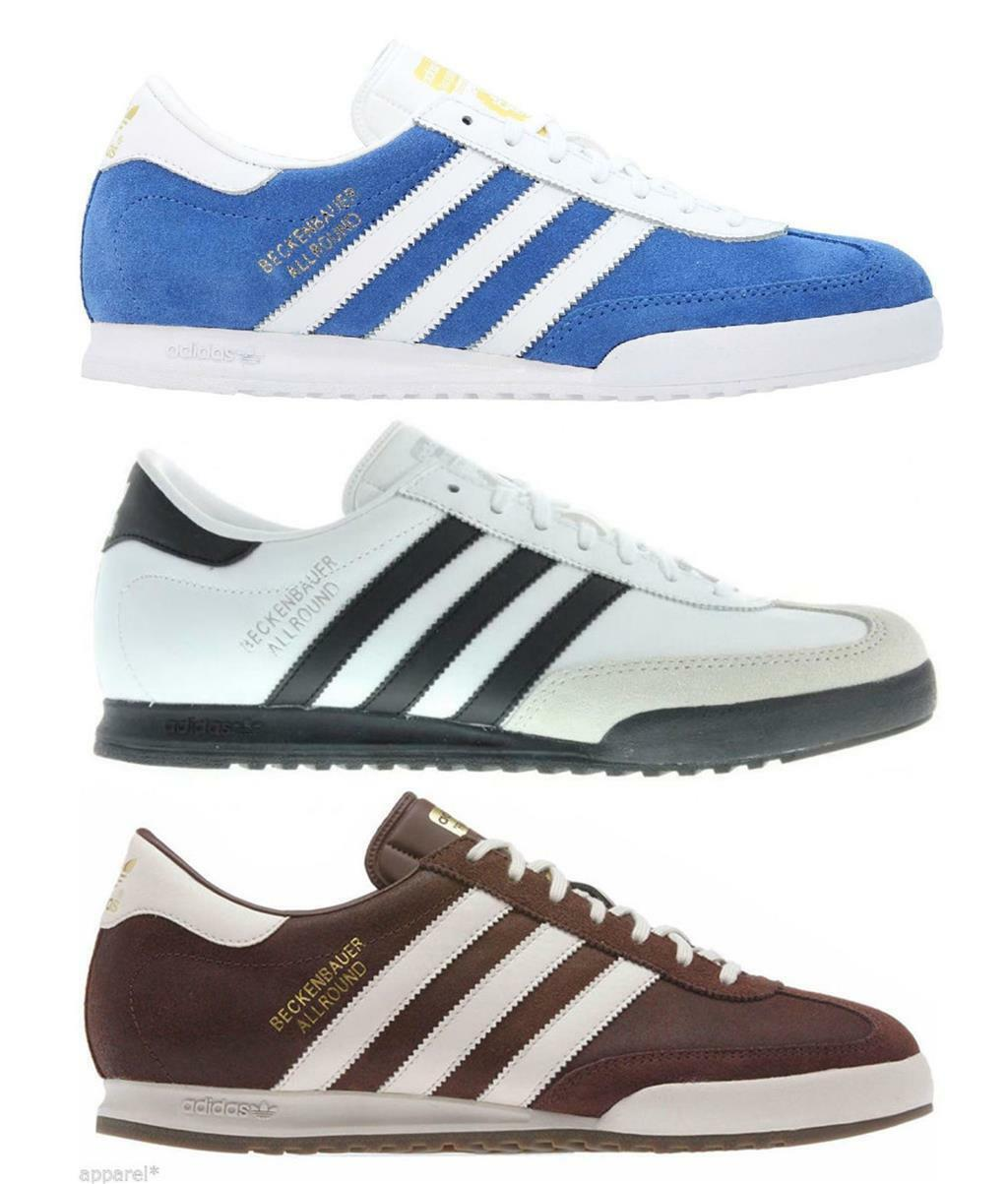 Adidas Beckenbauer Allround Shoes Mens Casual Retro Trainers Shoes Allround UK Size 7-12 rrp 893f03