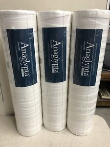 Folded Paper RD80028 Anaglypta Luxury Vinyl Wallpaper Multiple Rolls