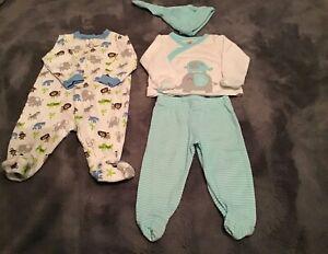 0 3 Months Baby Boy 10 Piece Warm Clothes Lot Infant Newborn Cold Weather Ebay
