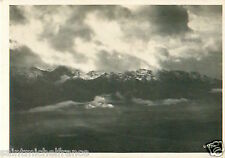 N°81 ZEPPELIN Bernese Oberland Switzerland Dirigible AIRSHIP CARD IMAGE 30s