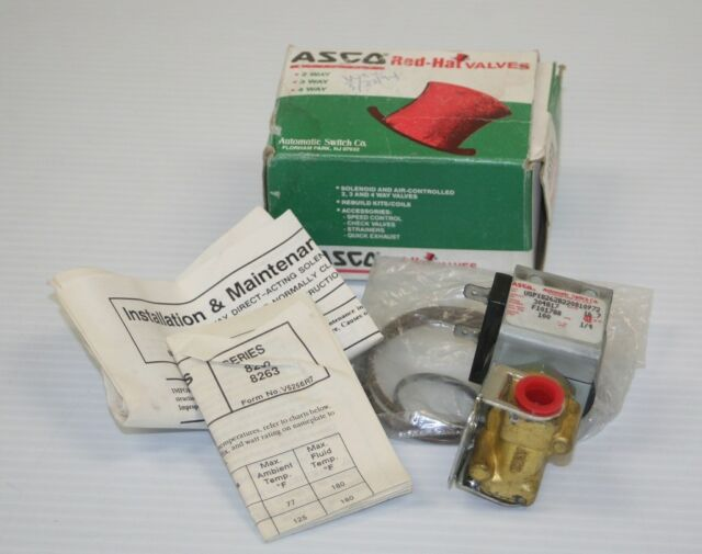 New Asco Red Hat Spare Parts Kit 80-498