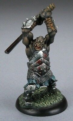 Black Orc Hero Reaper Miniatures Dark Heaven Legends Fighter Barbarian Melee