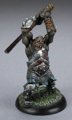 Black Orc Hero Reaper Miniatures Dark Heaven Legends Fighter Barbarian Melee