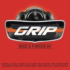 GRIP BASS & FURIOUS,VOL.4 (BOUNCE INC., TIMMY TRUMPET,...) 2 CD NEU