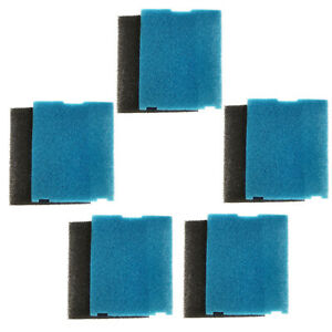 5-Pack-HQRP-Coarse-amp-Flat-Box-Filter-Pad-for-Tetra-Pond-Filtration-Fountain-Kits