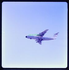 12 Color Slides LOCKHEED C5-A GALAXY Making Low Approaches George AFB 1969