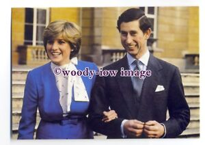 Image Is Loading Pq0038 Princess Diana Amp Prince Charles After Engagement