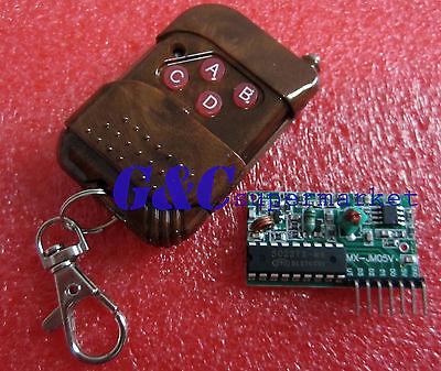 2PCS 4CH IC 2262/2272 4 channel wireless remote control kits 4 key remote  M21