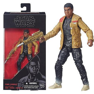 FINN 3.75 Black Series Star Wars The Force Awakens Action Figure Hasbro JAKKU