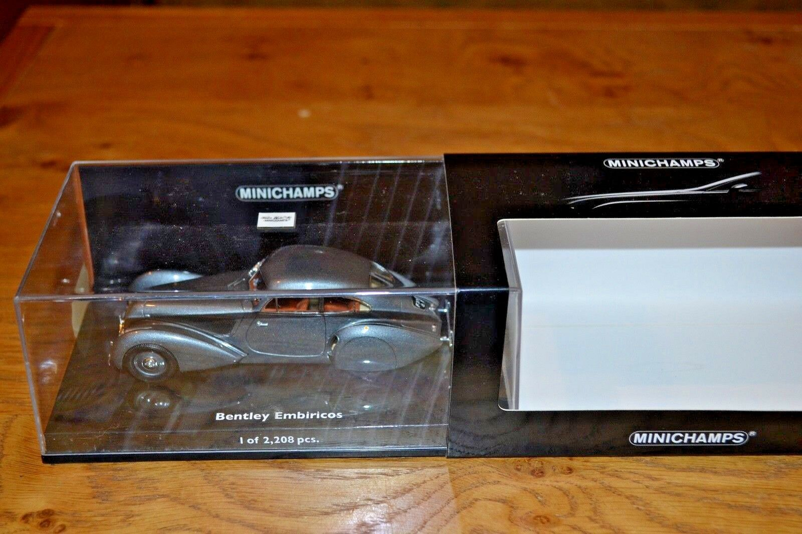 MINICHAMPS 1 43 BENTLEY EMBIRICOS 1939 Comme neuf CONDITION