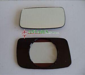 For Fiat Tempra Vetro Sx Cromato Piano per Specchietto Retrovisore