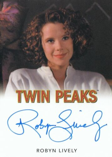 ROBYN LIVELY LANA BUDDING MILFORD AUTOGRAPH CLASSIC 2019 TWIN PEAKS ARCHIVES