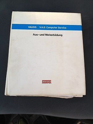 Consegna Veloce Cartella/siemens Nixdorf Computer Service Vaudi V.a.g Vw Audi Da-formazione- Firm In Structure