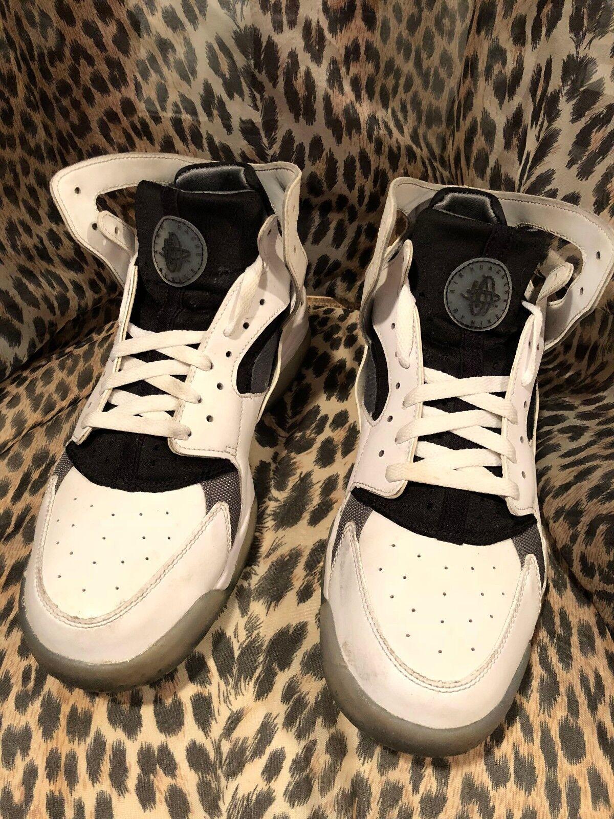 Nike Air Huarache Flight Sneakers Homme Sz  Blanc Cool  Gris  705005-100