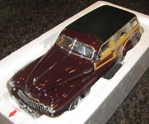 Danbury Mint 1947 BUICK ROADMASTER ESTATE WAGON 1:24 ...