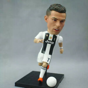 Details about C Ronaldo CR7 Toy Star Doll Juventus Sport Souvenir Gift  Soccer Cool Action New