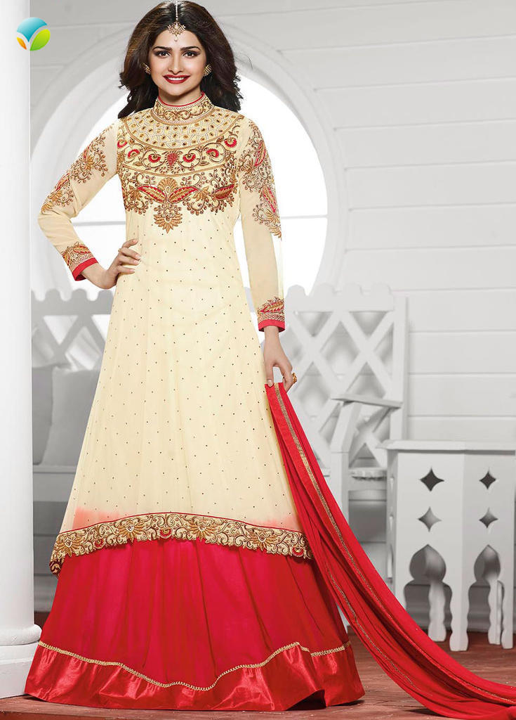 INDIAN ANRKALI ETHNIC DESIGNER SALWAR SUIT BOLLYWOOD PAKISTANI new PARTYWEAR