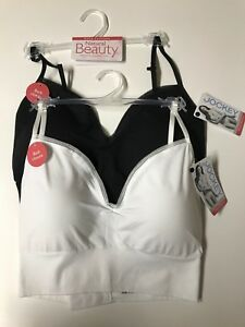 Jockey-Women-039-s-Bralette-Size-L-or-XL-Convertible-Straps-Removable-Cups-Ret-28