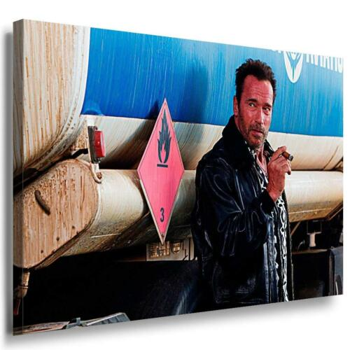 The Expendables 3 Arnold Schwarzenegger Leinwandbild AK Art Bilder Mehrfarbig