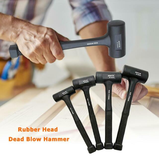 Rubber Installation Double Face Soft Tap Hammer Tile Mallet Repair Tools Framing