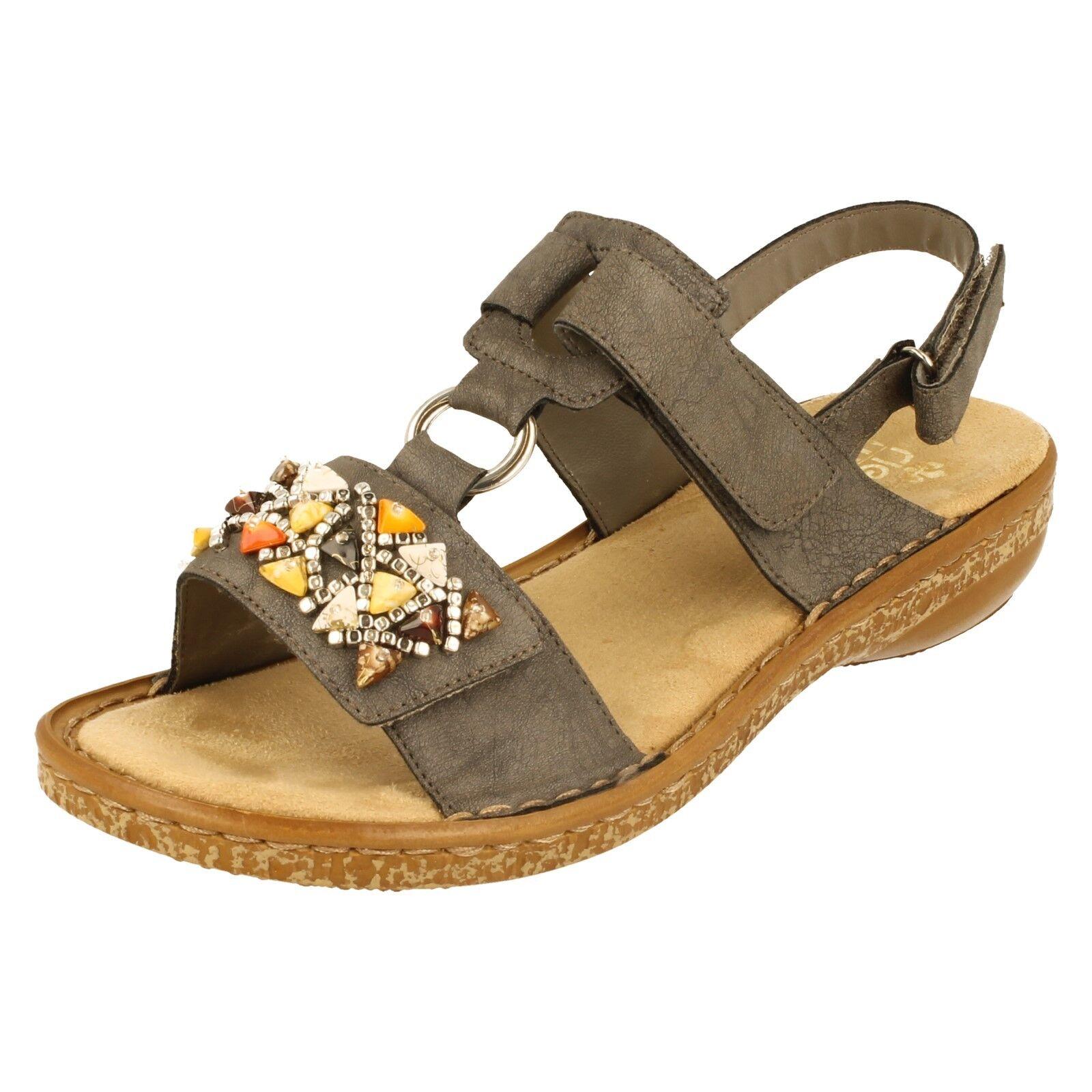 Damenschuhe Rieker Sandale - 628D7